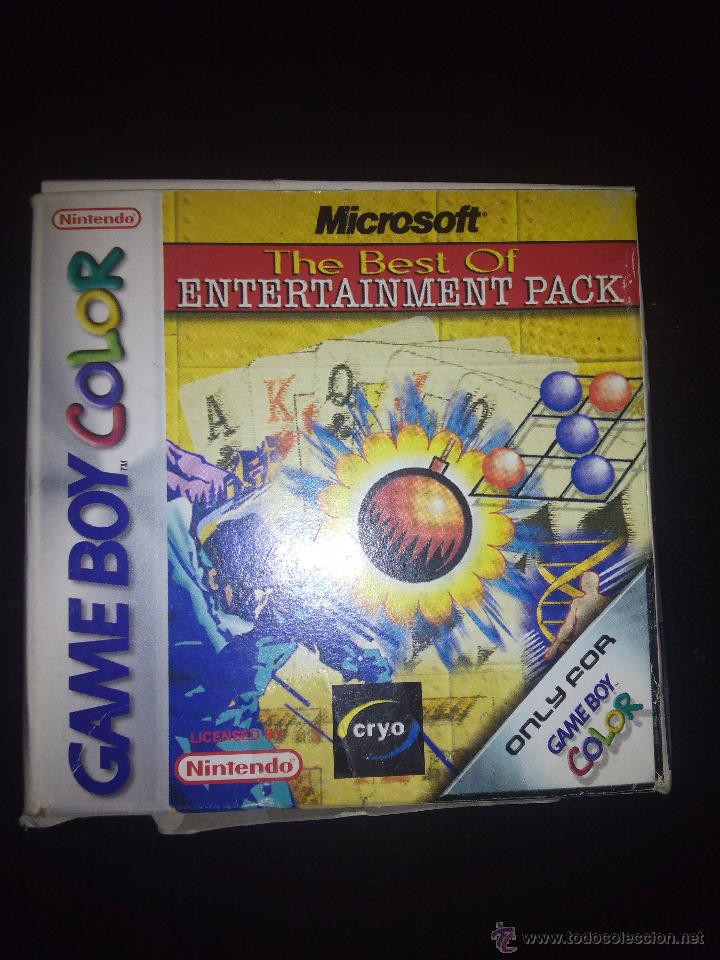 MICROSOFT THE BEST OF ENTERTAINMENT PACK,NUEVO SIN USO. (Juguetes - Videojuegos y Consolas - Nintendo - GameBoy Color)