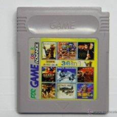 Videojuegos y Consolas: 36 IN 1 - GAMEBOY GAME BOY COLOR. Lote 155196708