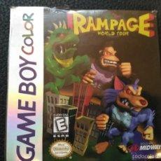 Videojuegos y Consolas: RAMPAGE NUEVO PRECINTADO GAMEBOY GAME BOY COLOR NINTENDO. Lote 57113456