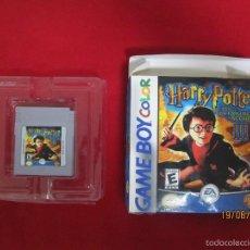 Videojuegos y Consolas: JUEGO ORIGINAL NINTENDO GAME BOY COLOR HARRY POTTER Y LA CAMARA SECRETA. Lote 57557994