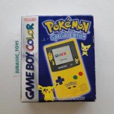 Videojuegos y Consolas: GAME BOY COLOR: CONSOLA SPECIAL EDITION POKÉMON PIKACHU / NUEVO A ESTRENAR - GAMEBOY NEW IN BOX NIB. Lote 58277977