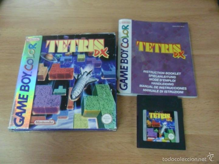Tetris dx deluxe - game boy color - gameboy gbc - Sold