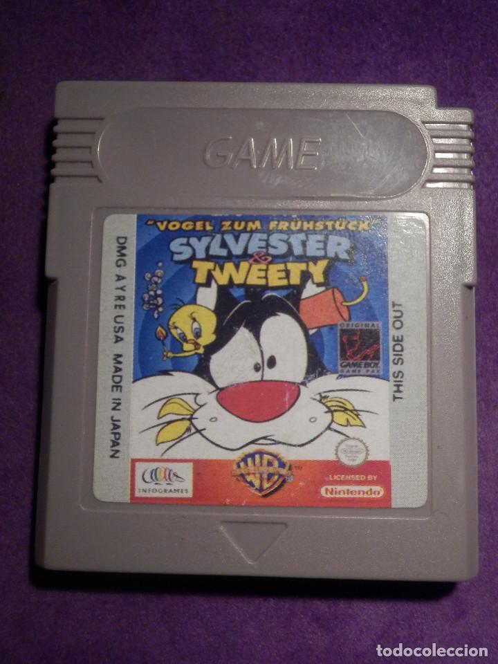 JUEGO DE CONSOLA - GAME BOY COLOR - SYLVESTER & TWEETY - (Juguetes - Videojuegos y Consolas - Nintendo - GameBoy Color)