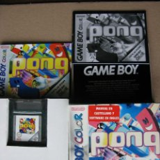Videojuegos y Consolas: GAME BOY COLOR PONG (ORIGINAL COMPLETO). Lote 68975737