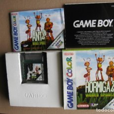 Videojuegos y Consolas: GAME BOY COLOR HORMIGAZ WORLD SPORTZ (ORIGINAL COMPLETO). Lote 68976101
