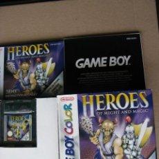 Videojuegos y Consolas: GAME BOY COLOR HEROES OF MIGHT AND MAGIC (ORIGINAL COMPLETO). Lote 68976257
