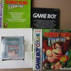 Videojuegos y Consolas: GAME BOY COLOR DONKEY KONG COUNTRY (ORIGINAL COMPLETO). Lote 68976565