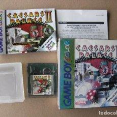 Videojuegos y Consolas: GAME BOY COLOR CAESARS PALACE II (ORIGINAL COMPLETO). Lote 68976689