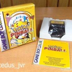 Videogiochi e Consoli: POKEMON PINBALL JUEGO PARA NINTENDO GAMEBOY GAME BOY COLOR COMPLETO VERSIÓN ESPAÑOLA Y NUEVO. Lote 69417805