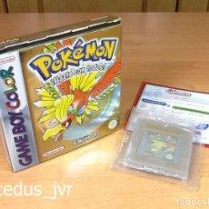 Videojuegos y Consolas: POKEMON EDICIÓN ORO JUEGO PARA NINTENDO GAMEBOY GAME BOY COLOR CON CAJA EXCELENTE ESTADO. Lote 69426001