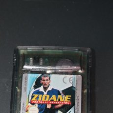 Videojuegos y Consolas: ZIDANE FOOTBALL GENERATION PARA GAME BOY COLOR NINTENDO FUNCIONA. Lote 77272341