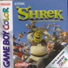 Videojuegos y Consolas: JUEGO SHREK PARA GAMEBOY COLOR.. Lote 81087284