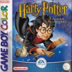 Videojuegos y Consolas: JUEGO HARRY POTTER Y LA PIEDRA FILOSOFALPARA GAMEBOY COLOR.. Lote 81087368