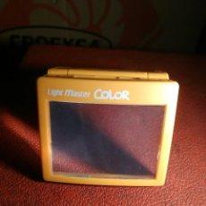 Videojuegos y Consolas: LOTE 4 LUPA CON LUZ LIGHT MASTER COLOR PARA GAMEBOY. Lote 81945180