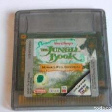 Videojuegos y Consolas: JUEGO EL LIBRO DE LA SELVA THE JUNGLE BOOK NINTENDO GAME BOY GAMEBOY - NO NINTENDO. Lote 82324744