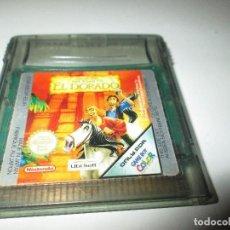 Videojuegos y Consolas: NINTENDO GAME BOY COLOR ~ THE ROAD TO EL DORADO ~ PAL/EUROPA. Lote 83012144