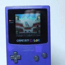 Videojuegos y Consolas: NINTENDO GAMEBOY COLOR GBC - MORADA. Lote 68922825