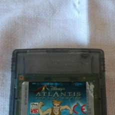 Videojuegos y Consolas: 26-ATLANTIS, THE LOST EMPIRE, GAME BOY COLOR. Lote 85176540