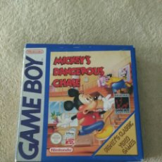 Videojuegos y Consolas: MICKEY'S DANGEROUS CHASE PARA GAME BOY. Lote 87196630