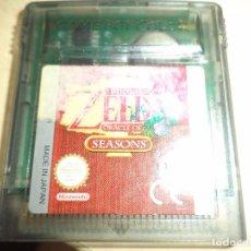 Videojuegos y Consolas: JUEGO GAME BOY COLOR - ZELDA ORACLE OF SEASONS.NINTENDO.. Lote 95699491