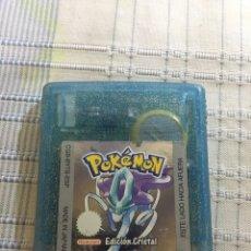 Videojuegos y Consolas: POKEMON CRISTAL GAME BOY COLOR. Lote 96009288