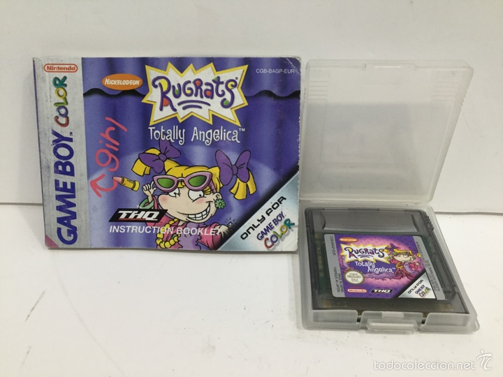 JUEGO RUGRATS TOTALLY AGELICA NINTENDO GAME BOY COLOR (Juguetes - Videojuegos y Consolas - Nintendo - GameBoy Color)
