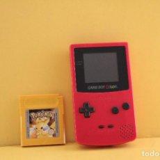 Videojuegos y Consolas: NINTENDO GAME BOY CON JUEGO POKEMON. Lote 99086155