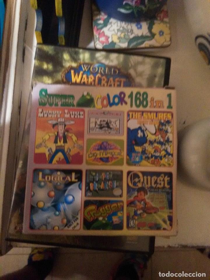 CARTUCHO SUPER COLOR 168 EN 1 PARA GAMEBOY (Juguetes - Videojuegos y Consolas - Nintendo - GameBoy Color)