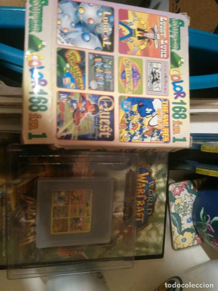 Videojuegos y Consolas: cartucho super color 168 en 1 para gameboy - Foto 3 - 202112285