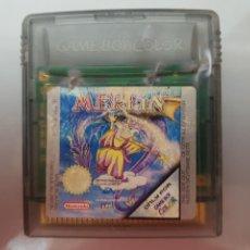 Videojuegos y Consolas: MERLIN DIFÍCIL NINTENDO GAME BOY COLOR. Lote 227121330