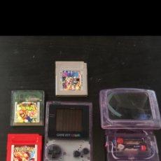 Videojuegos y Consolas: GAME BOY COLOR + JUEGOS. Lote 100622787
