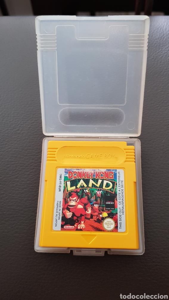 JUEGO DONKEY KONG LAND NINTENDO GAMEBOY ORIGINAL CON ESTUCHE (Juguetes - Videojuegos y Consolas - Nintendo - GameBoy Color)