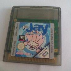 Videojuegos y Consolas: JUEGO PARA LA CONSOLA NINTENDO GAME BOY COLOR. JAY. KRTL. SPIELZEUGDIEBE. Lote 104236079