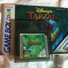 Videojuegos y Consolas: TARZAN DISNEY GBC GAMEBOY COLOR GAME BOY GB KREATEN JUEGO. Lote 104789963