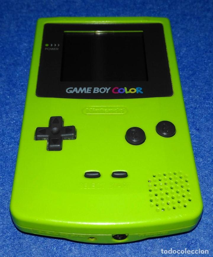 Nintendo game boy color verde - Sold through Direct Sale