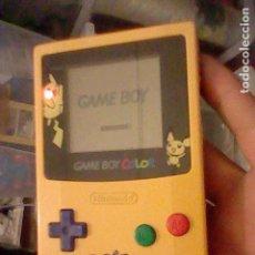 Videojuegos y Consolas: GAME BOY COLOR PIKACHU NINTENDO. Lote 105502787