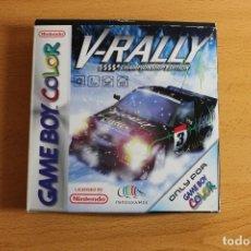 Videojuegos y Consolas: V-RALLY CHAMPIONSHIP EDITION GBC. Lote 107268131