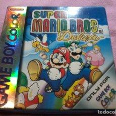 Videojuegos y Consolas: SUPER MARIO BROS DELUXE GAMEBOY COLOR COMPLETO. Lote 109024711