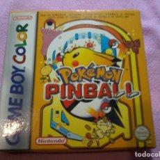 Videojuegos y Consolas: POKÉMON PINBALL GAMEBOY COLOR (COMPLETO). Lote 109024947