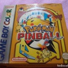 Videojuegos y Consolas: POKÉMON PINBALL GAMEBOY COLOR (COMPLETO). Lote 109025079