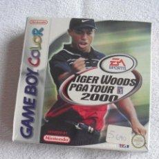 Videojuegos y Consolas: VIDEOJUEGO GAME BOY COLOR TIGER WOODS PGA TOUR 2000 RETRACTILADO NUEVO. Lote 114650200