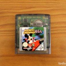 Videojuegos y Consolas: NINTENDO GAME BOY COLOR - MICKEY'S SPEEDWAY USA - GBC. Lote 111863479
