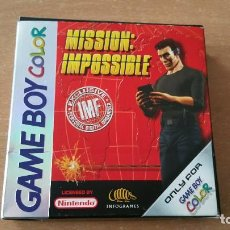 Videojuegos y Consolas: MISSION IMPOSSIBLE GAMEBOY COLOR PAL ESPAÑA COMPLETO. Lote 113909155