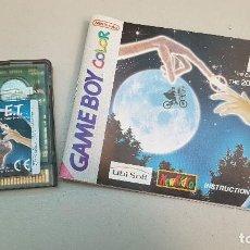 Videojuegos y Consolas: JUEGO GAME BOY COLOR. E.T.. Lote 114050599