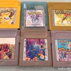 Videojuegos y Consolas: LOTE JUEGOS POKEMON GAME BOY. Lote 114694824
