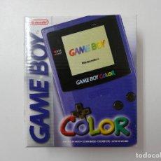Videojuegos y Consolas: CONSOLA GAMEBOY COLOR MORADO (COMPLETA) SIN USO. Lote 114853859