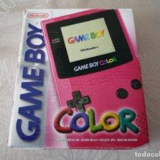 Videojuegos y Consolas: CONSOLA GAMEBOY COLOR MAGENTA (COMPLETA), EN BUEN ESTADO. Lote 115166631