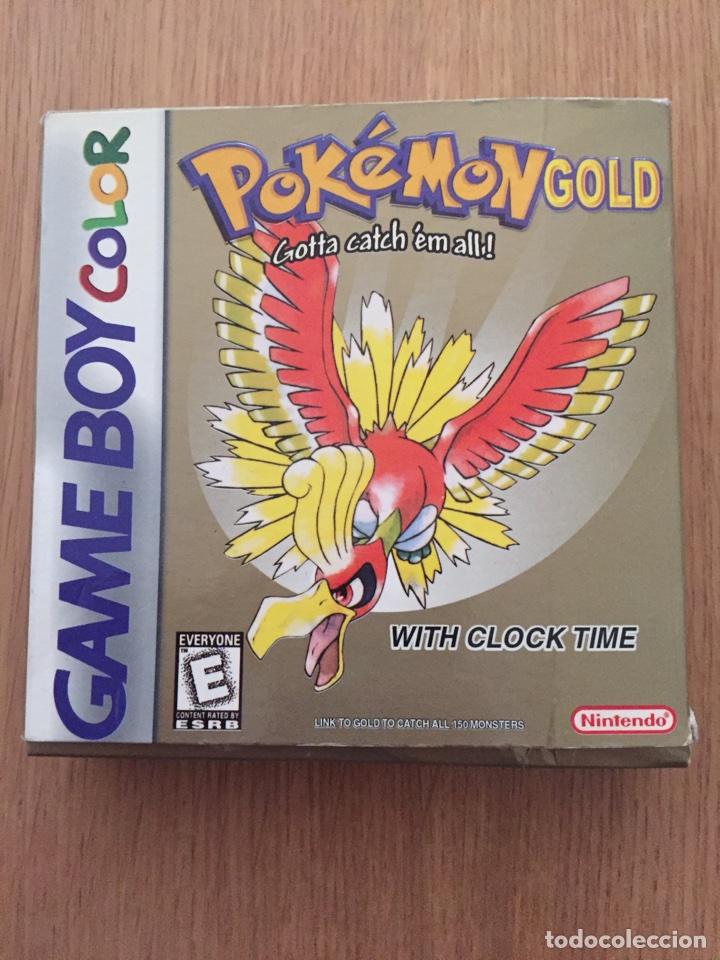 POKEMON GAMEBOY COLOR GOLD VERSIÓN (CAJA E INTRUCCIONES) EDICIÓN USA NTSC (Juguetes - Videojuegos y Consolas - Nintendo - GameBoy Color)