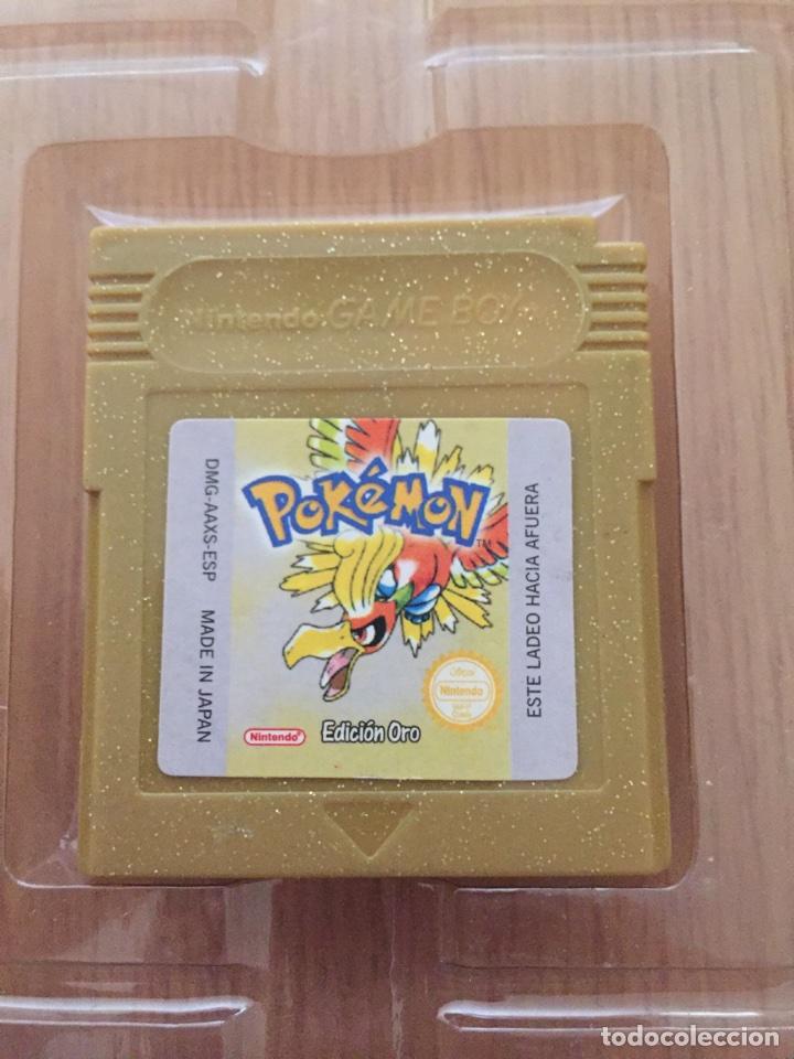 Videojuegos y Consolas: Pokemon Gameboy Color Gold Versión (Caja e Intrucciones) Edición USA NTSC - Foto 5 - 119285386