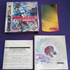 Videojuegos y Consolas: CAJA SIN JUEGO GAME BOY COLOR NINTENDO SUPERCROSS 2000 JEREMY MCGRATH AKLAIM + DOCOMENTACIÓN. Lote 119463351